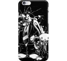Sam & Max X Pulp Fiction (white) iPhone Case/Skin