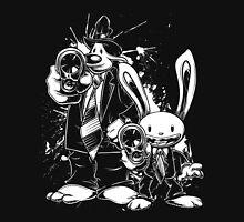Sam & Max X Pulp Fiction (white) T-Shirt