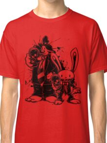 Sam & Max X Pulp Fiction (black) Classic T-Shirt