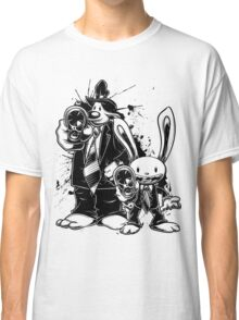 Sam & Max X Pulp Fiction (black) Classic T-Shirt