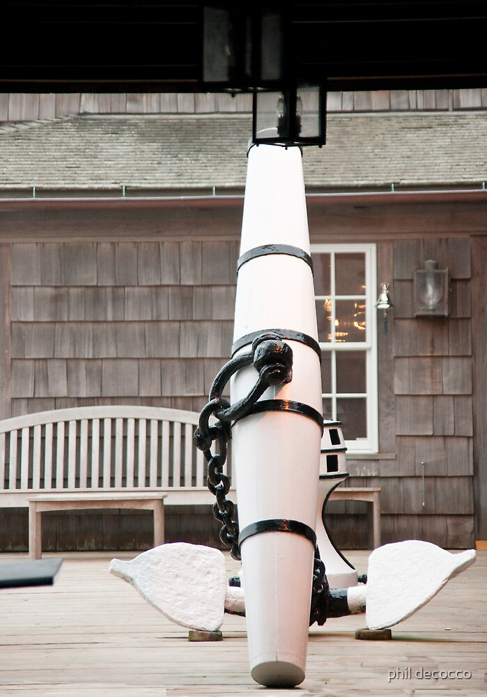 Porch Anchor by phil decocco
