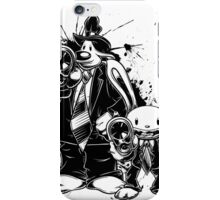 Sam & Max X Pulp Fiction (black) iPhone Case/Skin