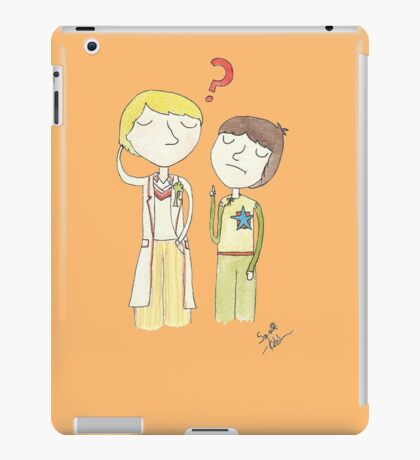 Doctor Who - Adriiiiiiiiiiiiiiiic iPad Case/Skin