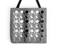 Layered Floral Silhouette Print (6 of 8 please see notes) Tote Bag