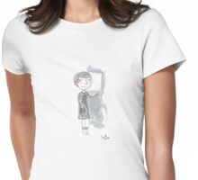 Doctor Who - Some Girls Wander By Mistake Womens Fitted T-Shirt