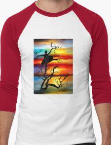 Dancer Men's Baseball ¾ T-Shirt