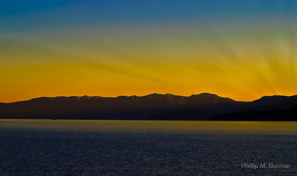 Tahoe Sunrise by Phillip M. Burrow