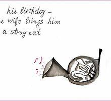 French Horn. Haiga. by Origa