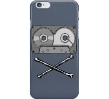 Death of the Cassette. iPhone Case/Skin