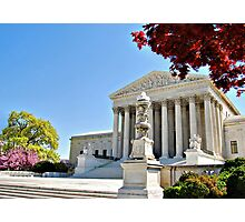 The Supreme Court in Maple and Cherry  Photographic Print