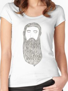 Iron & Wine Women's Fitted Scoop T-Shirt