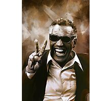 Ray Charles Photographic Print