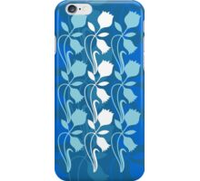 Layered Floral Silhouette Print (4 of 8 please see description) iPhone Case/Skin