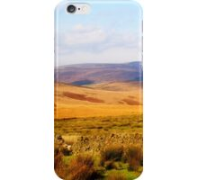 Looking towards Gisburn Forest iPhone Case/Skin