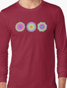 Psychedelic Summer Long Sleeve T-Shirt