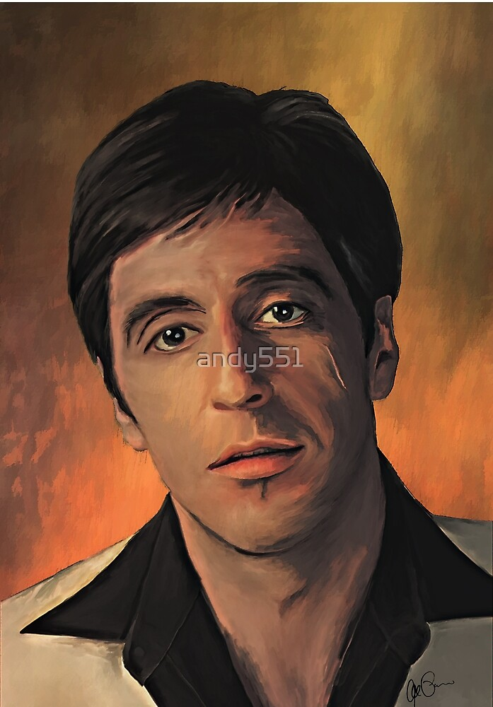Michael Corleone  by andy551