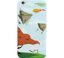 Floating Isle Explorer iPhone Case/Skin