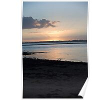 SUNSET WELLINGTON POINT QUEENSLAND Poster