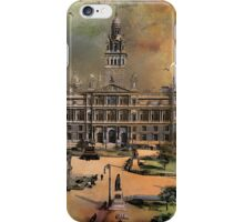 George Square -Glasgow 1900 y iPhone Case/Skin