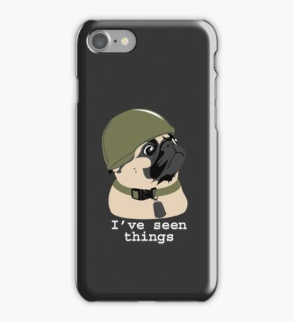 Pug of War iPhone Case/Skin
