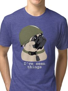 Pug of War Tri-blend T-Shirt