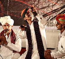 The folk artists from Rajasthan # 1 by debjyotinayak