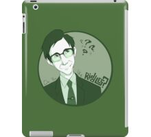 The Riddle Man iPad Case/Skin