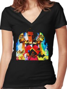 For the Memory of a Lifetime... Women's Fitted V-Neck T-Shirt