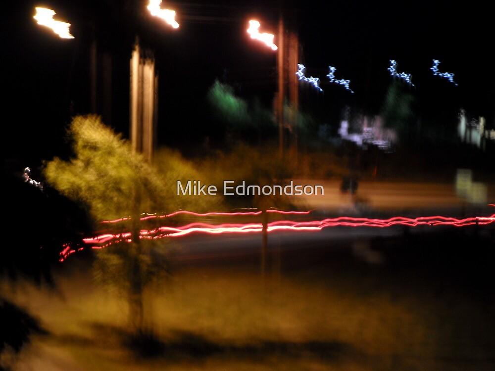 Light Graffiti ~ Santas Sleigh & Reindeer by Mike Edmondson
