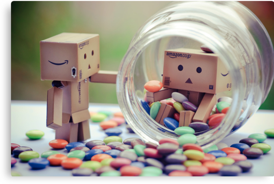 caught in a cookie (sweets) jar... by Natalia Campbell