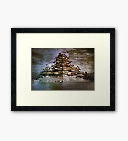 Matsumoto Castle Framed Print
