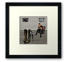 The Value of Labour Saving Devices Framed Print
