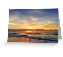 Old Bar Sunrise, Greeting Card