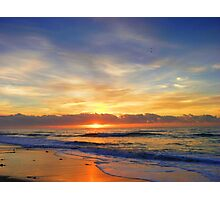 Old Bar Sunrise, Photographic Print