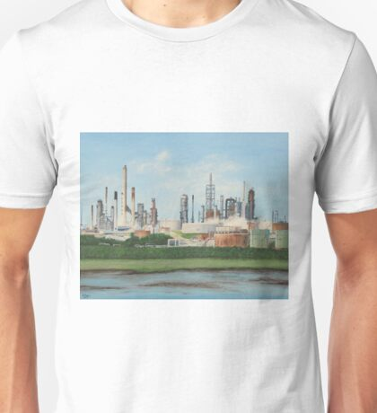Fawley Oil Refinery Unisex T-Shirt