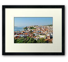 Skiathos Town, Greece Framed Print