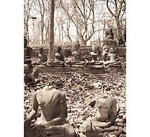 Headless Buddha Photographic Print