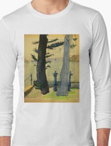 From Darling Point Twds Point Piper on an Overcast Day Long Sleeve T-Shirt
