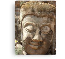 Buddha Head Canvas Print