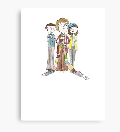 Doctor Who - Harry Sullivan Is A Genius, Actually Canvas Print