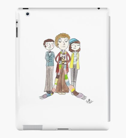 Doctor Who - Harry Sullivan Is A Genius, Actually iPad Case/Skin