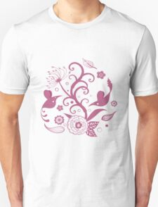 Birds of paper - flying and swooping T-Shirt