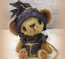 Magnus Mouse - Handmade bears from Teddy Bear Orphans by Penny Bonser