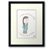 Parks and Recreation - April Ludgate Framed Print