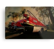 fine fins from the fifties Metal Print