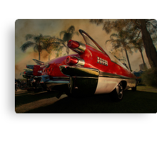 fine fins from the fifties Canvas Print