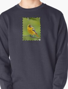 Baltimore Oriole Bird and Blooms  T-Shirt