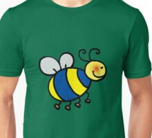 Cute bumblebee cartoon Unisex T-Shirt