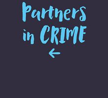 Partners in crime arrow left blue Unisex T-Shirt