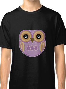 Purple Owl Classic T-Shirt